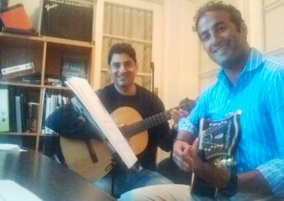 mike and carwan guitar lesson