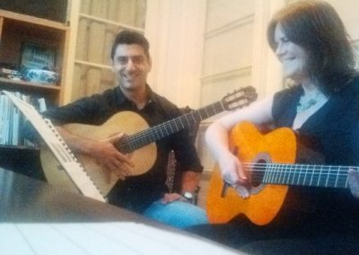 mike and sharene guitar lesson