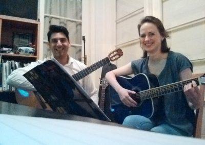 mike & janekke guitar lesson