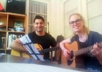 mike rizk & cassie guitar lesson