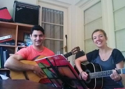 mike rizk and florie guitar lesson