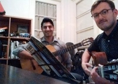Mike and Guillaume Guitar Lessons