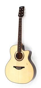Hofner Grand Auditorium Steel String Electro-acoustic Guitar