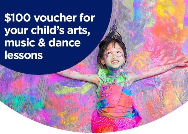 Creative Kids Voucher