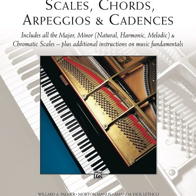 Alfreds Scales, Chords, Arpeggios & Cadences Complete Book