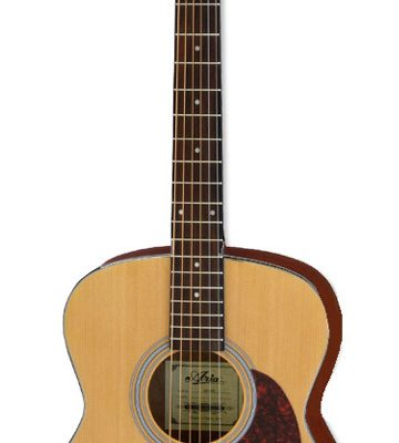 Aria ADF-01 Series Folk Body Acoustic Guitar in Satin Natural