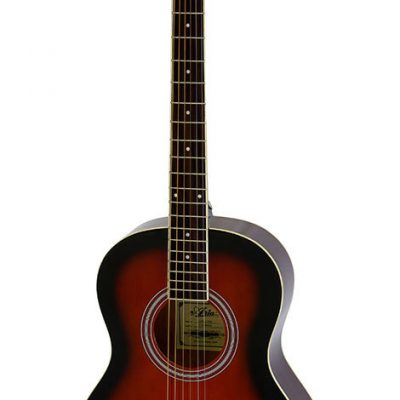 Aria AP-15 Parlour Acoustic Guitar in Brown Sunburst