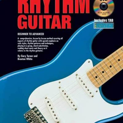 Progressive Rhythm Guitar Book CD and DVD