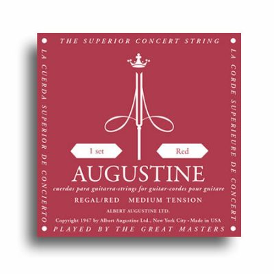 Augustine Regal RED Classical Guitar Strings Medium Tension