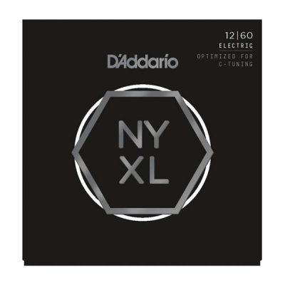 D'Addario NYXL1260 Nickel Wound Extra Heavy 12-60 Electric Guitar Strings