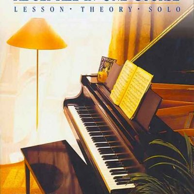 Alfred's Basic Adult All-in-One Piano Course Book 2