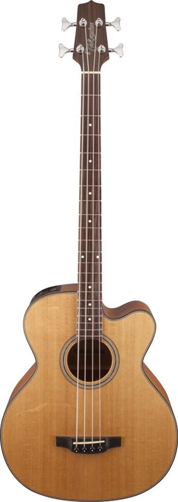 Takamine GB30 Series Bass Guitar with Cutaway Natural